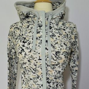 Lululemon After Asana Hoodie Silver Spoon
